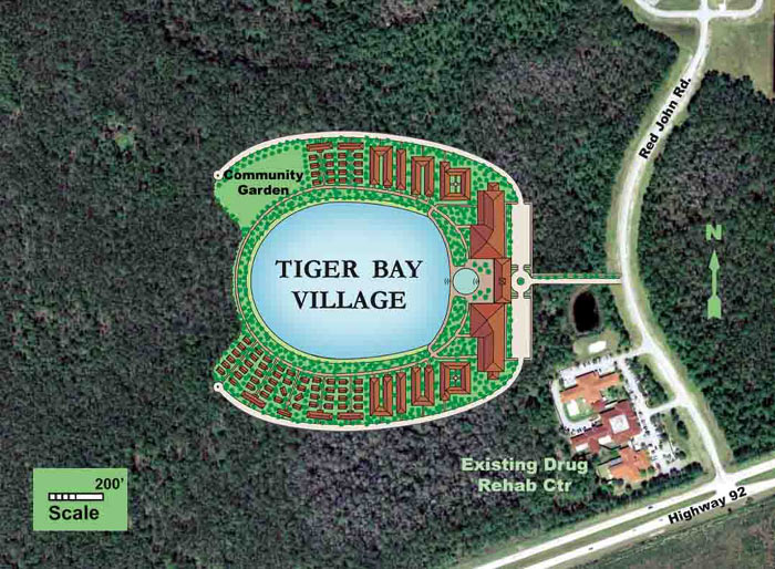 Proposed Tiger Bay Village Site